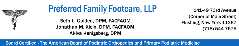 Preferred Family Footcare, LLP | Flushing Podiatry | Flushing Podiatrist